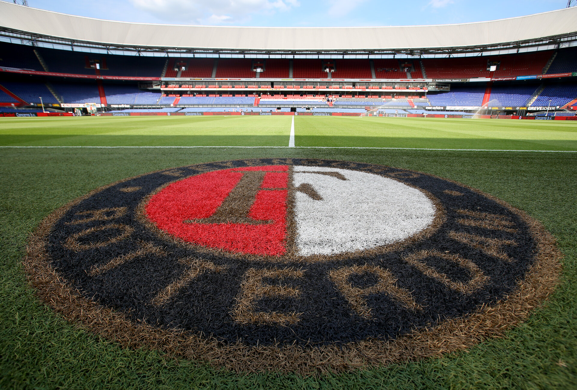 GV ahead of the pre-season friendly between Feyenoord and Southampton FC, De Kuip, Rotterdam, Netherlands, 23 July 2015.