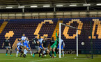 sam mcqueen goal during the EFL Trophy game between Colchester and Southampton FC, at The Colchester Community Stadium, Colchester, Essex, London, 4th October 2016