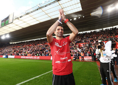 Gallery: Benali finishes epic challenge