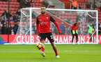 Nathan Redmond during the Premier League match between Southampton and Chelsea at St Mary's Stadium, Southampton, England on 30 October 2016. Photo by Matt Watson/SFC/Digital South.