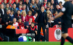 Claude Puel during the Premier League match between Southampton and Chelsea at St Mary's Stadium, Southampton, England on 30 October 2016. Photo by Matt Watson/SFC/Digital South.