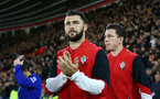 Charlie Austin during the Premier League match between Southampton and Everton at St Mary's Stadium, Southampton, England on 27 November 2016. Photo by Matt  Watson/SFC/Digital South.