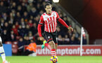 Virgil Van Dijk (Southampton) runs with the ball during the Premier League match between Southampton and Everton at St. Mary's Stadium on 27 November 2016. Photo by Michael Jones/Digital South