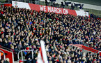 Saints fans during the Premier League match between Southampton and Everton at St Mary's Stadium, Southampton, England on 27 November 2016. Photo by Matt  Watson/SFC/Digital South.