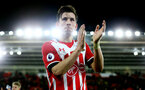 Pierre-Emile Hojbjerg during the Premier League match between Southampton and Everton at St Mary's Stadium, Southampton, England on 27 November 2016. Photo by Matt  Watson/SFC/Digital South.