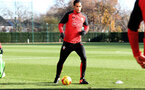 Virgil Van Dijk during a Southampton FC training session at the Staplewood Campus, Southampton, 29th November 2016