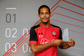 van Dijk named player of the month