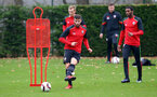 Sam McQueen during a Southampton FC training session at The Staplewood Campus, 7th December 2016