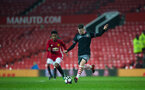 callum slattery during Southampton FC U18 v Manchester United U18 in the FA youth cup, at Old Trafford, Manchester, 12th December 2016, pic by Naomi Baker/Southampton FC