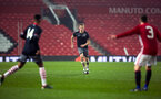 christoph klarer during Southampton FC U18 v Manchester United U18 in the FA youth cup, at Old Trafford, Manchester, 12th December 2016, pic by Naomi Baker/Southampton FC