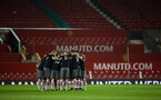 team during Southampton FC U18 v Manchester United U18 in the FA youth cup, at Old Trafford, Manchester, 12th December 2016, pic by Naomi Baker/Southampton FC