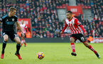 Sofiane Boufal during the Premier League match between Southampton and West Bromwich Albion at St Mary's Stadium, Southampton, England on 31 December 2016. Photo by Matt Watson/SFC/Digital South.
