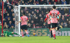 Saints go 2-1 down during the Premier League match between Southampton and West Bromwich Albion at St Mary's Stadium, Southampton, England on 31 December 2016. Photo by Matt Watson/SFC/Digital South.