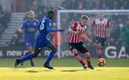 James Ward Prowse during the Premier League match between Southampton and Leicester City at St Mary's Stadium, Southampton, England on 21 January 2017. Photo by Matt Watson/SFC/Digital South.