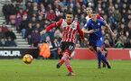 Dusan Tadic (Southampton) makes it 3-0 from the penalty spot during the Premier League match between Southampton and Leicester City at St Mary's Stadium, Southampton, England on 22 January 2017.