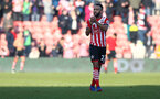 Nathan Redmond during the Premier League match between Southampton and Leicester City at St Mary's Stadium, Southampton, England on 21 January 2017. Photo by Matt Watson/SFC/Digital South.