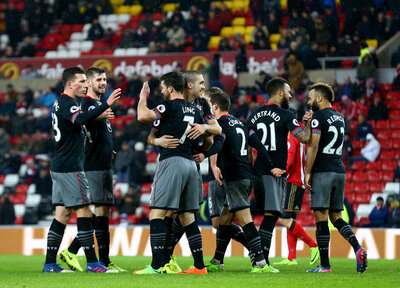 Saints record joint-biggest Premier League away win