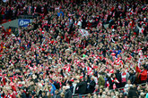 All Season Ticket holders eligible for cup seats