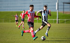 harley willard during the Premier League Cup match between Newcastle U23 and Southampton U23 at Whitley Park, Newcastle, England on 28 February 2017. Photo by Naomi Baker/SFC/Digital South.