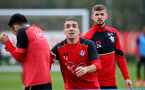 Oriol Romeu during a Southampton FC training session at the Staplewood Campus, Southampton, 30th March 2017