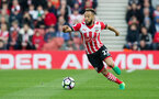 Nathan Redmond shoots at goal during the Premier League match between Bournemouth and Southampton at Vitality Stadium, Bournemouth, England on 18 December 2016. Photo by Matt Watson/SFC/Digital South.