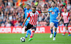 Nathan Redmond during the Premier League match between Bournemouth and Southampton at Vitality Stadium, Bournemouth, England on 18 December 2016. Photo by Matt Watson/SFC/Digital South.