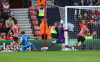 Fraser Forster saves during the Premier League match between Bournemouth and Southampton at Vitality Stadium, Bournemouth, England on 18 December 2016. Photo by Matt Watson/SFC/Digital South.