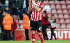 Sam McQueen (Southampton) applauds the fans during the Premier League match between Southampton and Bournemouth at St Mary's Stadium, Southampton, England on 1 April 2017.