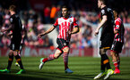 dusan tadic during the Premier League match between Southampton and Hull City at St Mary's Stadium, Southampton, England on 29 April 2017. Photo by Naomi Baker/SFC/Digital South.