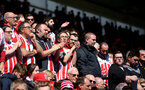 Saints fans during the Premier League match between Southampton and Hull City at St Mary's Stadium, Southampton, England on 29 April 2017. Photo by Matt Watson/SFC/Digital South.