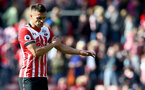 Dusan Tadic dejected during the Premier League match between Southampton and Hull City at St Mary's Stadium, Southampton, England on 29 April 2017. Photo by Matt Watson/SFC/Digital South.