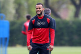 Gallery: Saints prepare for Anfield trip