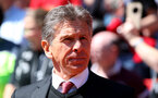 Claude Puel during the Premier League match between Liverpool and Southampton at Anfield, Liverpool. Photo by Matt Watson/SFC/Digital South.