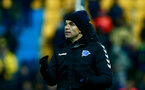 ALCORCON, SPAIN - JANUARY 18:  Coach  Mauricio Pellegrino of Deportivo Alaves celebrates his team's opening goal during the Copa del Rey quarter-final match between Agrupacion Deportivo Alcorcon and Deportivo Alaves at Santo Domingo stadium on January 18, 2017 in Alcorcon, Spain.  (Photo by Gonzalo Arroyo Moreno/Getty Images)