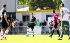 Oriol Romeu during a pre season friendly between St Etienne(white) and Southampton FC(black), at The Stade Municipal de Chambéry, France, 29th July 2017