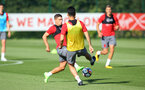Jeremy Pied during a Southampton FC pre season training session at the Staplewood Campus, Southampton, 31st July 2017