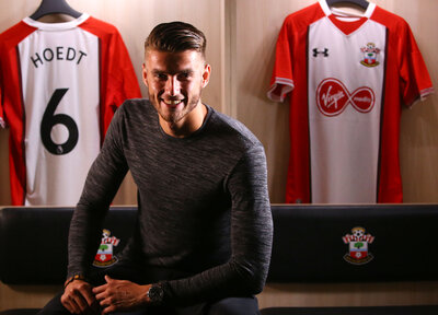 Hoedt delighted with Saints move