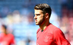 HUDDERSFIELD, ENGLAND - AUGUST 26: Southampton's latest signing Wesley Hoedt warms up ahead of the Premier League match between Huddersfield Town and Southampton at the John Smith Stadium on August 26, 2017 in Huddersfield, England. (Photo by Matt Watson/Southampton FC via Getty Images)