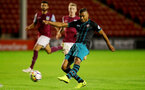 WALSALL, ENGLAND - SEPTEMBER 11: Marcus Barnes during the Premier League 2 match between Aston Villa and Southampton, at Banks' Stadium on September 11, 2017 in Walsall, England. (Photo by Matt Watson/Southampton FC via Getty Images)