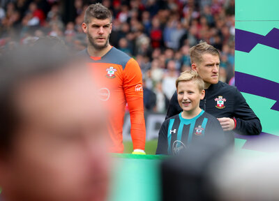 Become an away mascot for Saints at Liverpool