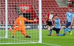 SOUTHAMPTON, ENGLAND - OCTOBER 16: Southampton's Sam McQueen scores his second of the game during the Premier League 2 match between Southampton U23 and Newcastle United U23, at St Mary's Stadium on October 16, 2017 in Southampton, England. (Photo by Matt Watson/Southampton FC via Getty Images)