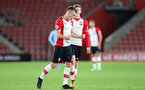 SOUTHAMPTON, ENGLAND - OCTOBER 16: Southampton's James Ward-Prowse celebrates his goal during the Premier League 2 match between Southampton U23 and Newcastle United U23, at St Mary's Stadium on October 16, 2017 in Southampton, England. (Photo by Matt Watson/Southampton FC via Getty Images)