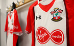 BRIGHTON, ENGLAND - OCTOBER 29: inside the Southampton FC dressing room ahead of the Premier League match between Brighton and Hove Albion and Southampton at the Amex Stadium on October 29, 2017 in Brighton, England. (Photo by Matt Watson/Southampton FC via Getty Images)