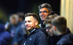 SOUTHAMPTON, ENGLAND - OCTOBER 30: Mauricio Pellegrino (middle) ahead of the U23's match between Southampton and Brighton & Hove Albion at Staplewood Campus on October 30, 2017 in Southampton, England. (Photo by James Bridle/Southampton FC via Getty Images)