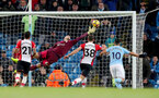 MANCHESTER, ENGLAND - NOVEMBER 29: Southampton's Fraser Forster is beaten by Raheem Sterling's strike during the Premier League match between Manchester City and Southampton at the Etihad Stadium on November 29, 2017 in Manchester, England. (Photo by Matt Watson/Southampton FC via Getty Images)