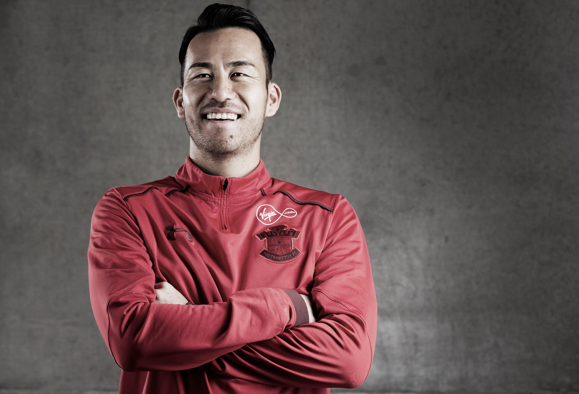 SOUTHAMPTON, ENGLAND - NOVEMBER 27: Southampton's Maya Yoshida pictured at the club's Staplewood Campus, for the Saints match day magazine, on November 27, 2017 in Southampton, England. (Photo by Matt Watson/Southampton FC via Getty Images)