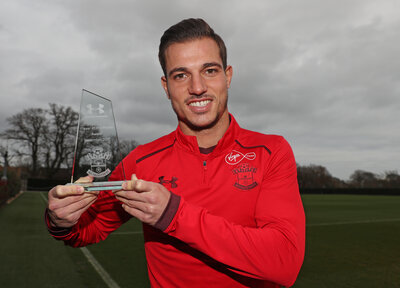 Cédric lands November Player of the Month award