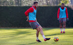 SOUTHAMPTON, ENGLAND - DECEMBER 20: Wesley Hoedt during a Southampton FC training session at Staplewood Complex on December 20, 2017 in Southampton, England. (Photo by Matt Watson/Southampton FC via Getty Images)