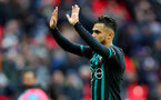 LONDON, ENGLAND - DECEMBER 26: Southampton's Sofiane Boufal during the Premier League match between Tottenham Hotspur and Southampton at Wembley Stadium on December 26, 2017 in London, England. (Photo by Matt Watson/Southampton FC via Getty Images)