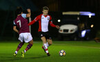 Matt Targett of Southampton during the U23 Premier League 2 match between Southampton and Aston Villa, 15th January 2018, pic by James Bridle